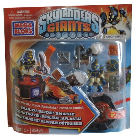 Skylanders Giants Chop Chop Ignitor Trigger Happy