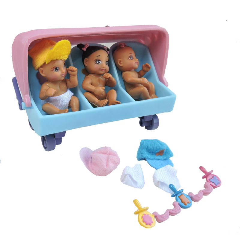 Baby In My Pocket Triplets The Toy Factory Shop
