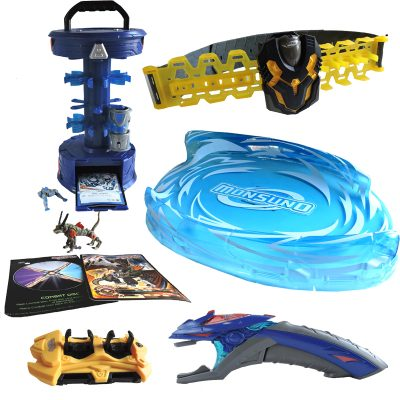 Monsuno Battle Bandoliers Chaos Booster Clips Launch Zone Transport Case Stike Launch