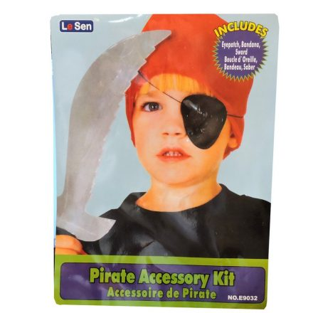 pirate dress up eye patch sword