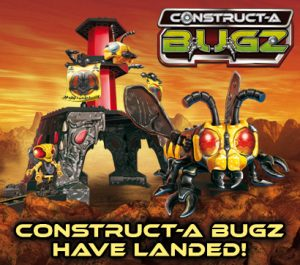 Constructa Bugz Bee Fly Wasp Dragonfly