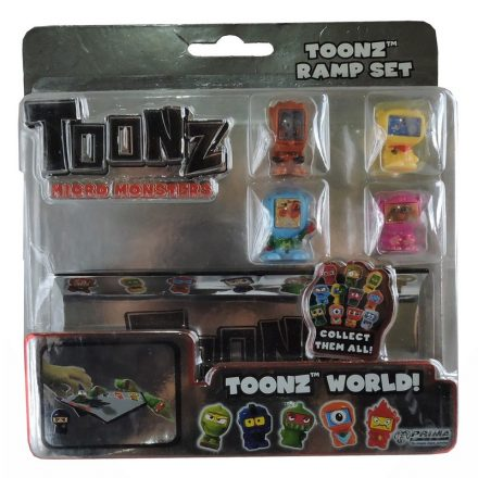 Toonz Micro Monsters Ramp Set