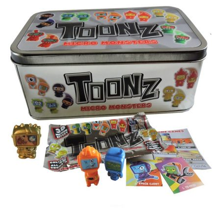 Toonz Micro Monsters Tin Game Box