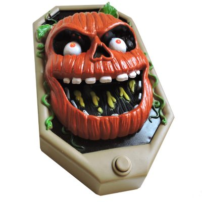 Doorbell Halloween Scary Pumpkin