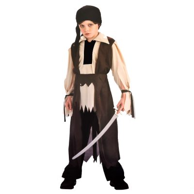 halloween dress up costume pirate