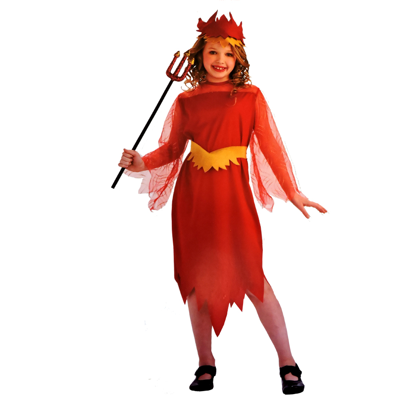 halloween dress up costume devil