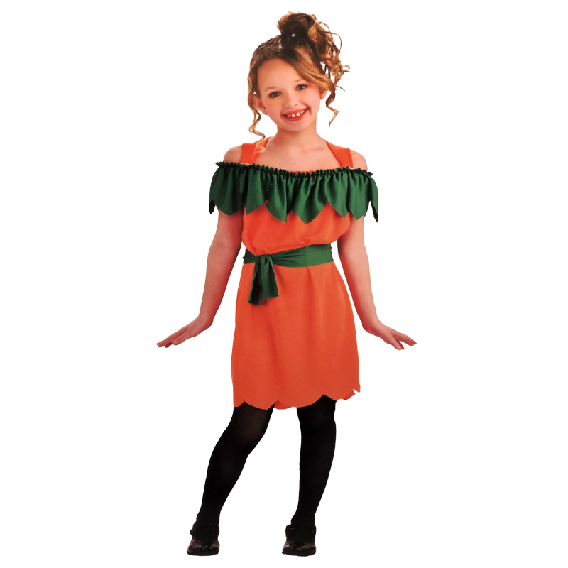 halloween dress up costume pumpkin