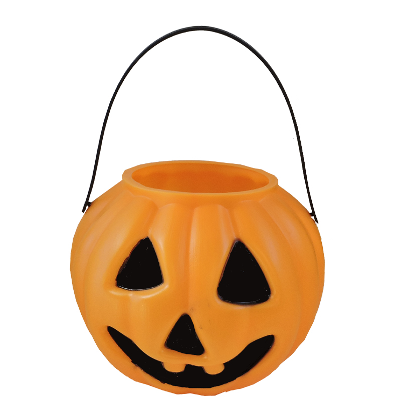 pumpkin candy bucket