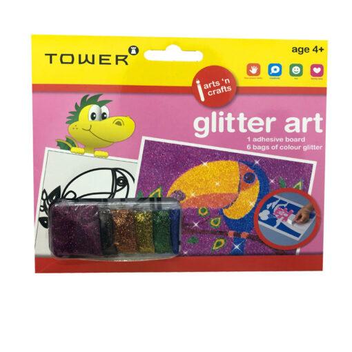 Glitter Art Parrot