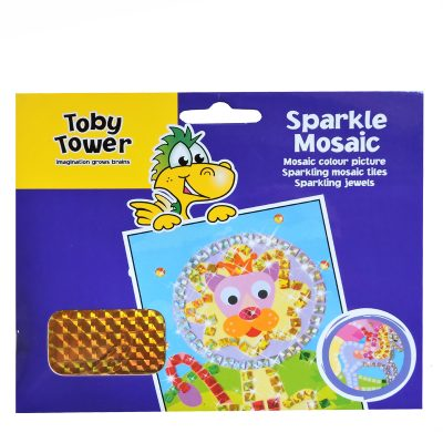 Toby Tower Sparkle Mosaic Art