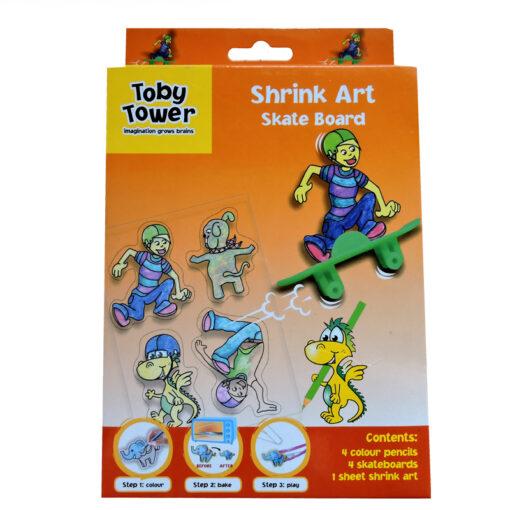 Toby Tower Shrink Art