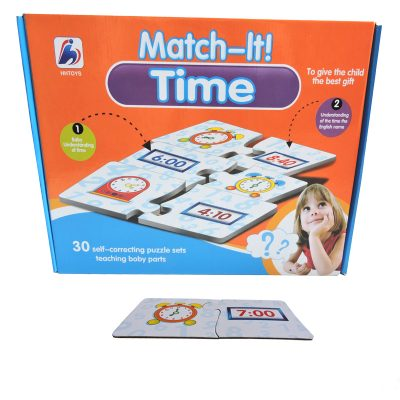 Match It Time Puzzle