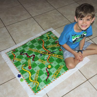 giant snakes and ladders ludo