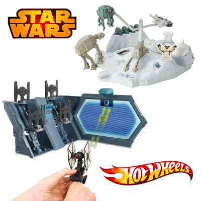 Star Wars hot Wheels Battle Sets