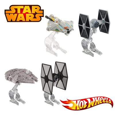 Star Wars hot Wheels 2pk