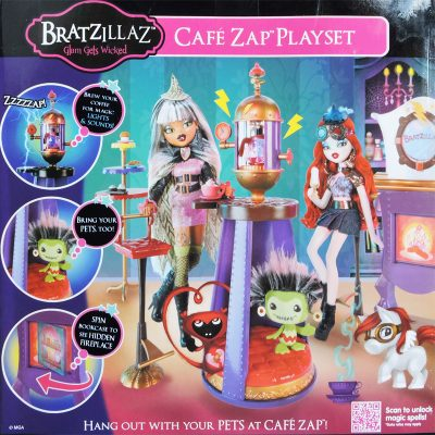 Bratzillazz Cafe Zap Playset