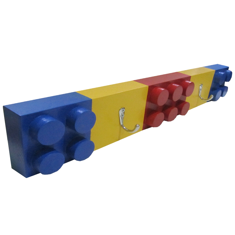 Wooden Coat Rack Toy Blocks The Toy Factory Shop Extraordinary Lego Coat Rack