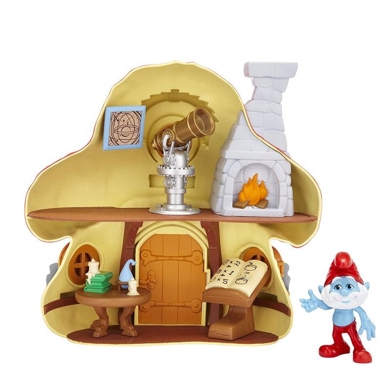 The Smurfs Movie Mushroom House The Toy Factory Shop