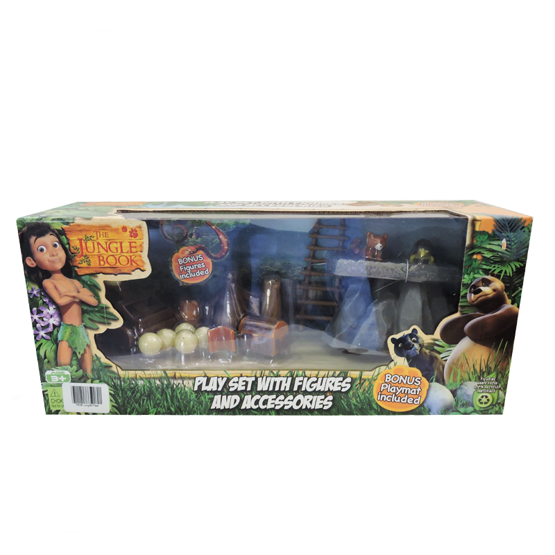 The Jungle Book Playset With Figurines Amp Accessories