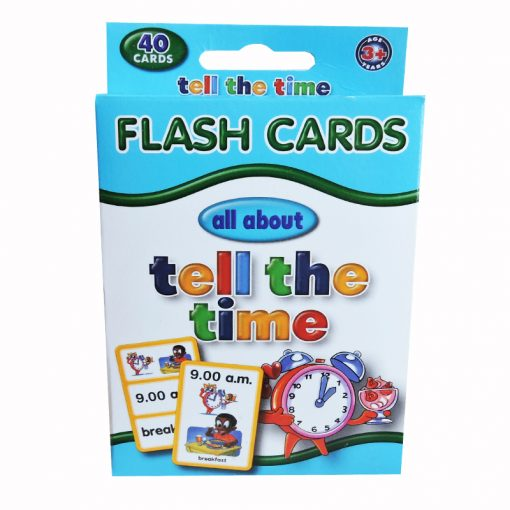 Flash Cards Tell the Time