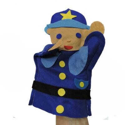 policeman hand puppet