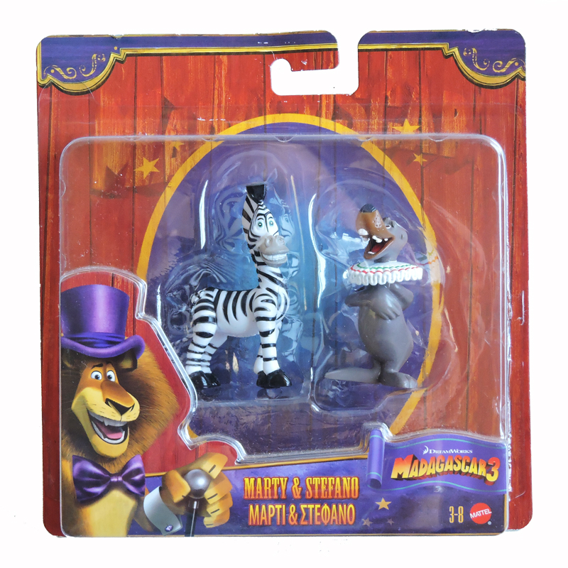 Madagascar 3 Figurines 2pk The Toy Factory Shop