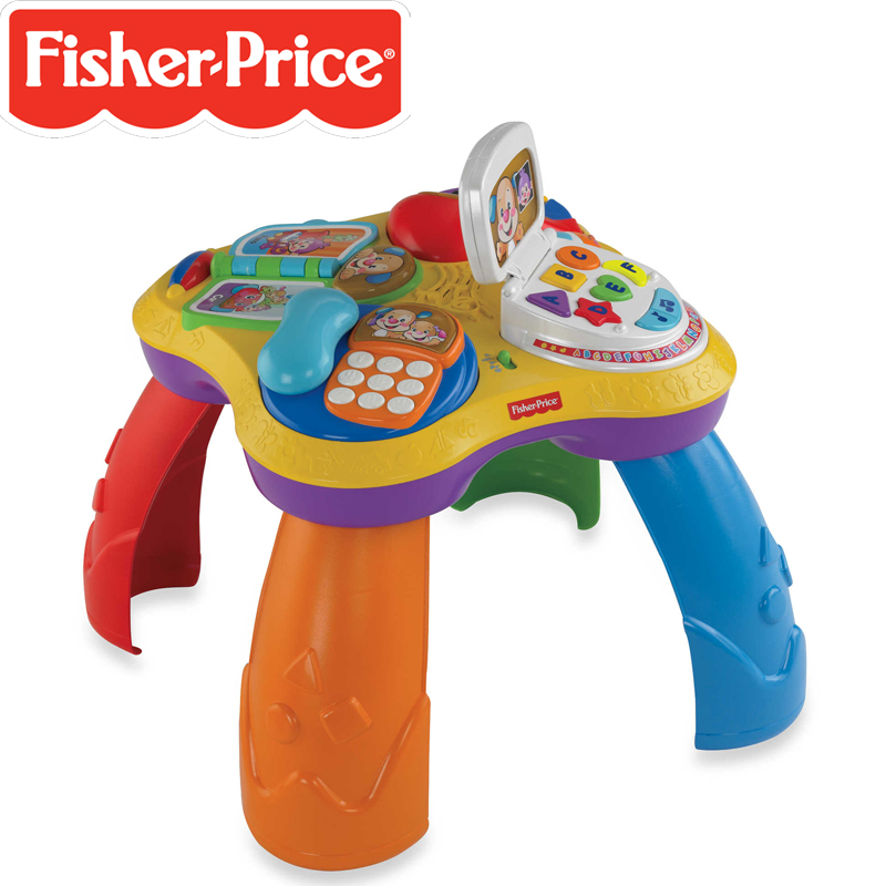 Fisher price laugh learn puppy friends learning table the toy factory shop - Table activite fisher price ...