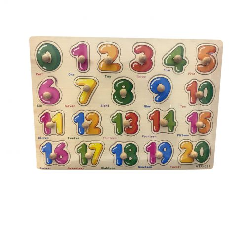 Peg Puzzle Numbers