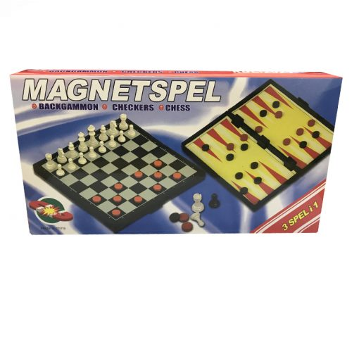 Magnetic Games 3 in 1