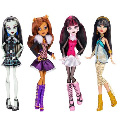 Monster high original ghouls collection