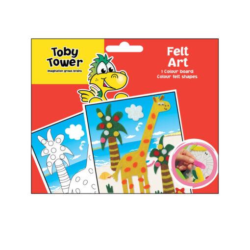 Toby Tower Felt Art