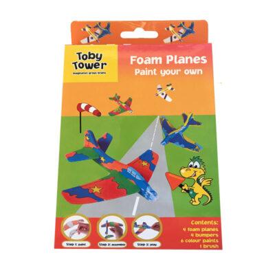 Toby Tower Foam Planes