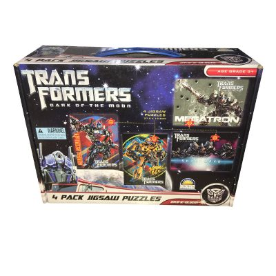 Transformers 4 pack puzzle