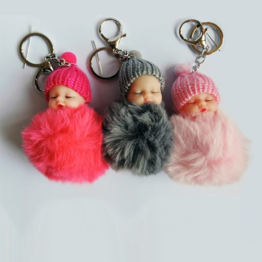 baby doll keyrings
