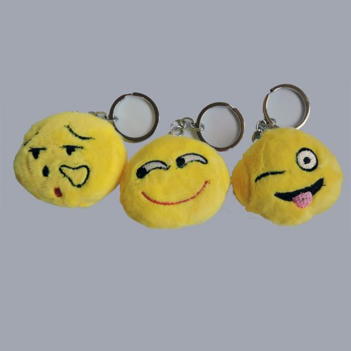 Emoji Fluffy Keyrings