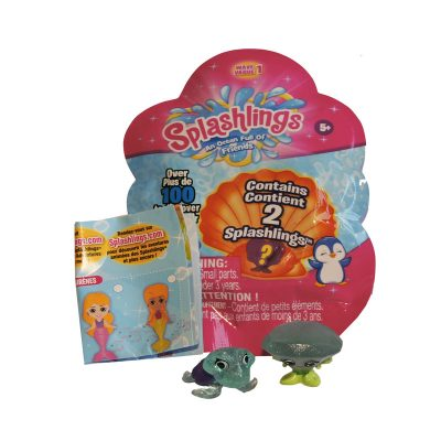 Splashlings 2pk Foil Bag