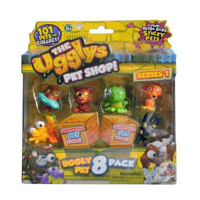 The Uggly's Pet Shop 8pk
