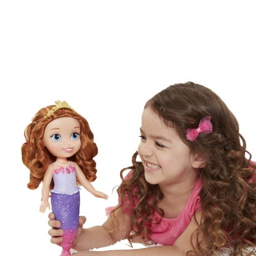 Sofia Mermaid Princess Bath Doll