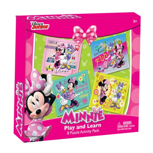 Minnie Mouse Play and Learn 8 Puzzle Activity Pack