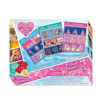 Disney Princess Brainstorm Activity Game
