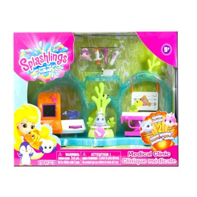 Splashlings playset