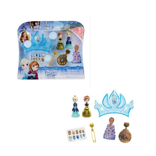 frozen little kingdom playset