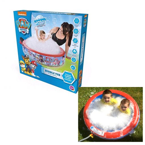 paw patrol bubble tub