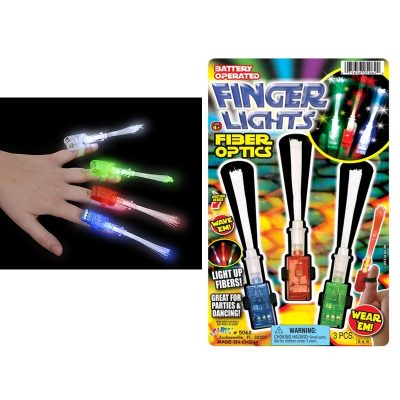 Finger Lights Fibre Optics