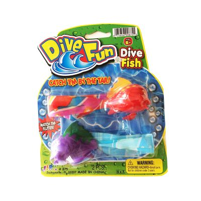 dive fun fish