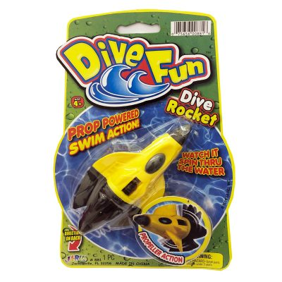 dive fun rocket