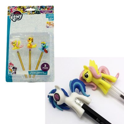 pony pencil toppers blister 3