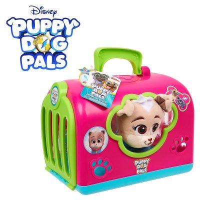 puppy dog pals groom and go pet carrier