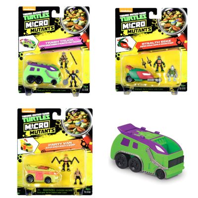 TMNT Micro World Vehicle & Figure
