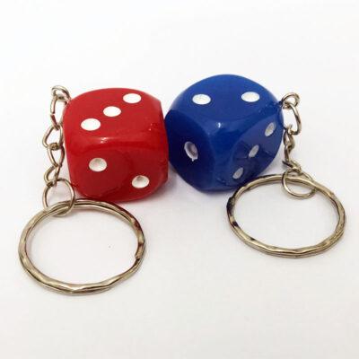 dice keyring